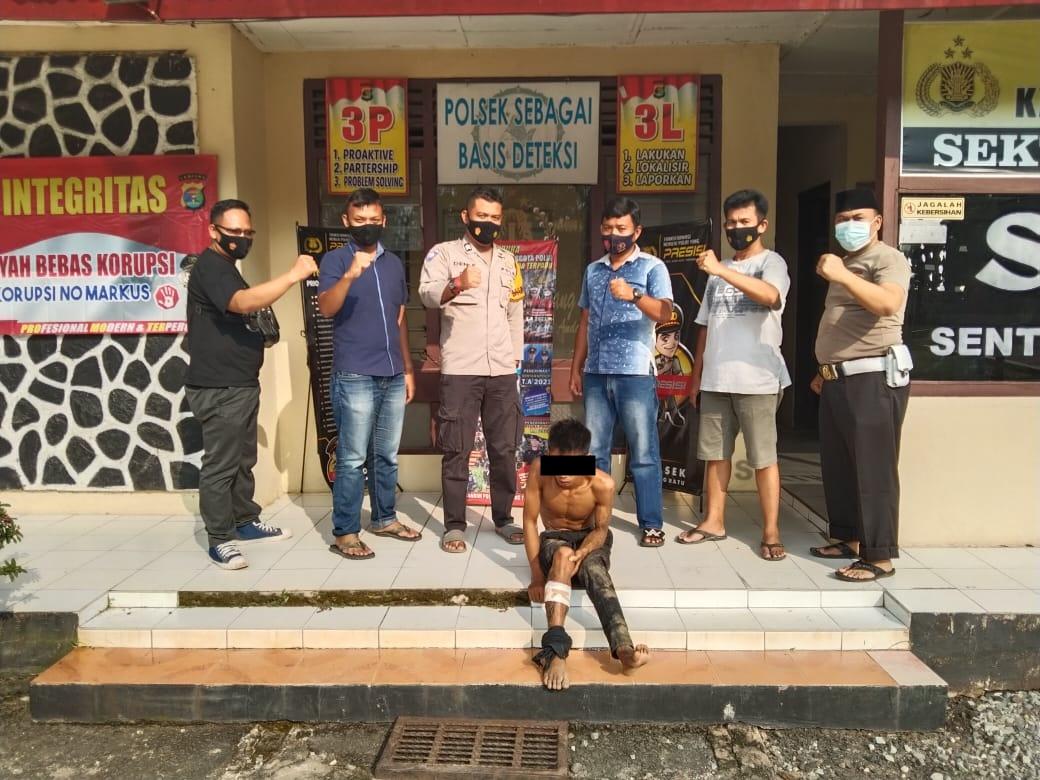 Kenalan Lewat Mensos Korban Disekap Dan Diperkosa, Pelaku Ditangkap Anggota Polsek Padang Ratu