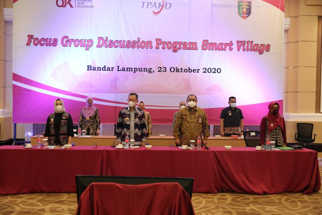 Pemprov Lampung Dorong Elemen Di Pedesaan Berkolaborasi Petakan Potensi Desa