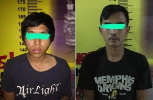 Sat Reskrim Polres Pesawaran Menangkap 2 Tersangka Kasus Narkoba